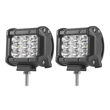 2pcs Carro Lâmpadas 27W SMD 3030 5400lm LED Luz de Trabalho