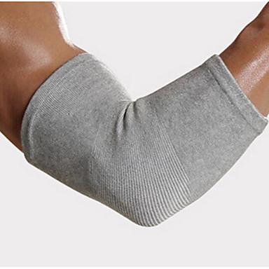 Cotoveleira para Corrida Exterior Adulto Anti-fricção Respirável Apoio conjunto Roupas para Lazer 2pçs Cinzento
