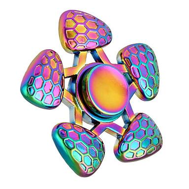 Fidget spinners hand Spinner Hračky Zábava Tri-Spinner Ring Spinner Kov Klasické Pieces Dětské Dárek