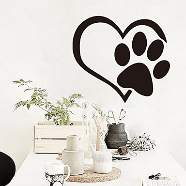 Animals Leisure Holiday Wall Stickers Plane Wall Stickers Decorative Wall Stickers 3D, Paper Home Decoration Wall Decal Wall Window
