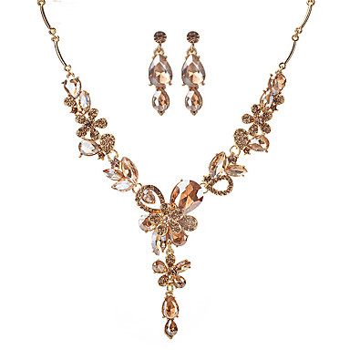 Women's Jewelry Set - Flower Fashion, Euramerican Include Gold / White / Gray For Party