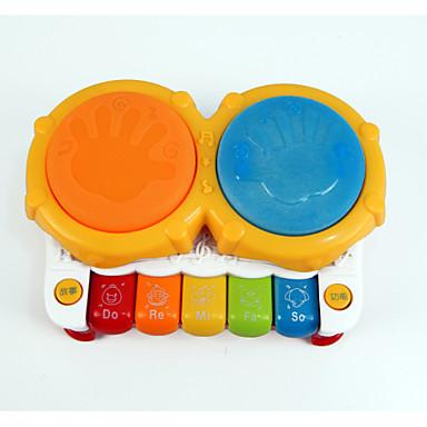 LED - Beleuchtung Bildungsspielsachen Spielzeuge Schlagzeugset Stücke Kinder Geschenk