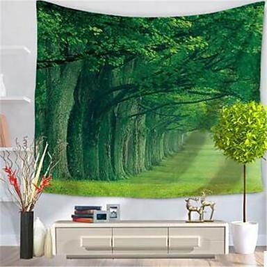 Landschaft Wand-Dekor Polyester / Polyamid Moderne Wandkunst, Wandteppiche Dekoration