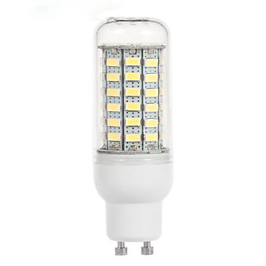 4.5W 200-300lm GU10 Lâmpadas Espiga 69 Contas LED SMD 5730 Branco Frio 220-240V / 1 pç