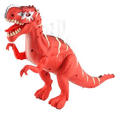 Dragões & Dinossauros Brinquedos Figuras de dinossauro Dinossauro jurássico Triceratops Tiranossauro Rex Elétrico Plástico Crianças Peças