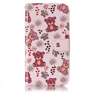 Capinha Para Samsung Galaxy A5(2017) / A3(2017) Porta-Cartão / Carteira / Com Suporte Capa Proteção Completa Desenho Animado Rígida PU