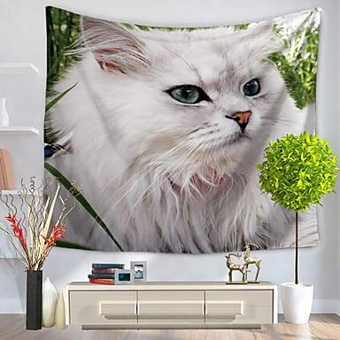 Tier Wand-Dekor 100% Polyester Einfach Wandkunst, Wandteppiche Dekoration