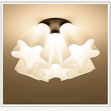 5-Light Pendant Light Downlight - Anti-Glare, Eye Protection, 110-120V / 220-240V, Warm White, Bulb Not Included / 5-10㎡ / E26 / E27