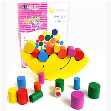 Hračky Hračky Obdélníkový Dřevo Pieces Unisex Dárek