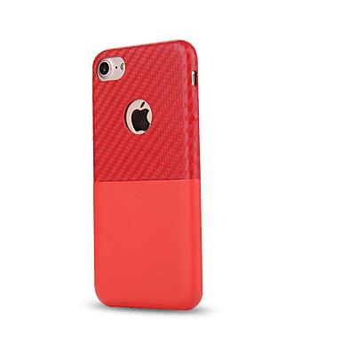 Carcasă Pro Apple iPhone 8 iPhone 8 Plus Pouzdro na karty Nárazuvzdorné Zadní kryt Pevná barva Měkké PU kůže pro iPhone 8 Plus iPhone 8
