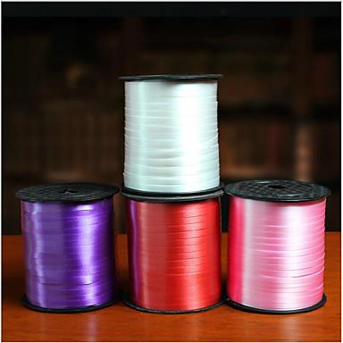 abordables Rubans de Mariage-Couleur Pleine Créatif Ruban Plastique Rubans de mariage - 1 Pièce / Set Déco de Mariage Unique Décorer le porte cadeau Décorer la boîte