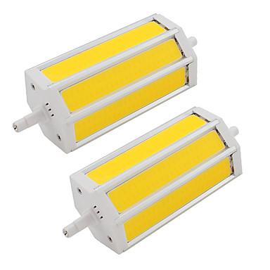 9W 200 lm LED Spot Lampen Röhre 3 Leds COB Warmes Weiß Kühles Weiß AC85-265 Wechselstrom 85-265V