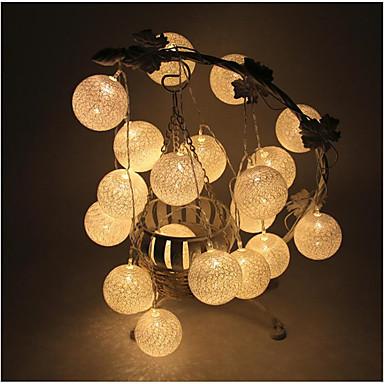 Luzes LED Cordão / Corda / Polietileno Decorações do casamento Casamento / Festa / Ocasião Especial Tema Clássico Todas as Estações