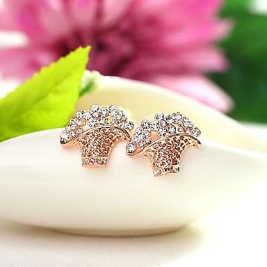 Dámské Náušnice Šperky Přizpůsobeno Euramerican Módní Štras Slitina Šperky Šperky Pro Svatební Párty