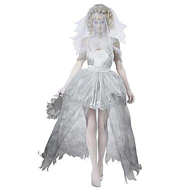 Avenger Zombie Bride Weddng Dress Women's Halloween Costume