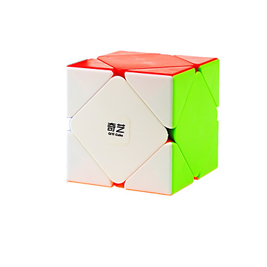 Rubik's Cube QI YI Skewb Skewb Cube Cubo Macio de Velocidade Cubos mágicos Cubo Mágico Adesivo Liso Dom Unisexo