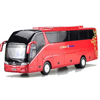 Carros de Brinquedo Brinquedos Motocicletas Brinquedos Rectângular Ônibus Ferro Peças Unisexo Dom