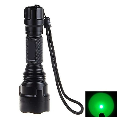 LED Flashlights / Torch LED LED 500 lm 1 Mode Tactical, Strike Bezel, Emergency Camping / Hiking / Caving, Everyday Use, Cycling / Bike