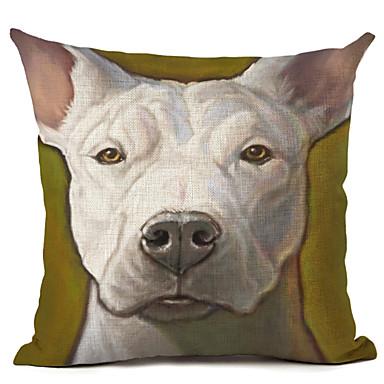 1 kpl Pellava Tyynyliina, Koira Moderni/nykyaikainen