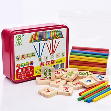voordelige Rekenspeelgoed-Educatieve geheugenkaartjes Montessori lesmateriaal Bouwblokken Rekenspeelgoed Educatief speelgoed stk Onderwijs Cool Kinderen Speeltjes
