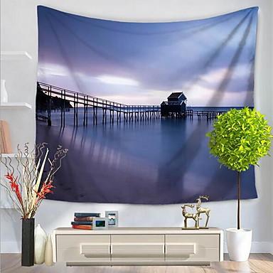 Landschaft Wand-Dekor Polyester / Polyamid Mit Mustern Wandkunst, Wandteppiche Dekoration