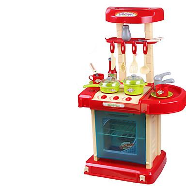 Conjuntos Toy Cozinha Aparelhos para cozinhar alimentos para crianças Brinquedos de Faz de Conta Brinquedos Simulação Plásticos Crianças
