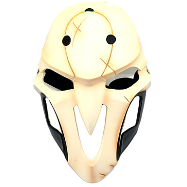 Mask Inspired by Overwatch Death the Kid Anime Cosplay Accessories Resin / Plexiglas 855