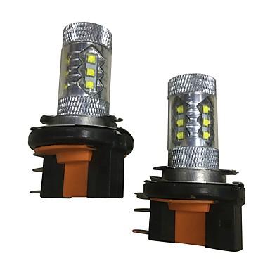 2pcs Carro Lâmpadas 80 W LED de Alto Rendimento 3800 lm LED Lâmpada de Farol