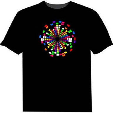 levou t-shirts 100% algodão 2 aaa bateria luz de noite de alta qualidade