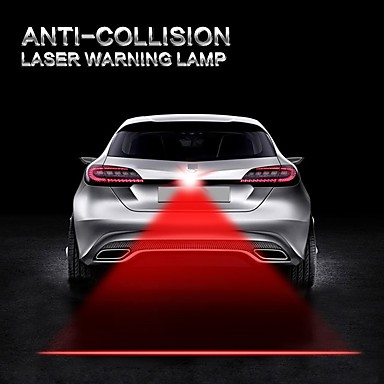 Auto Car Anti Collision Laser Light Automotive Lazer Taillight Fog Tail Lamp Warning Alarm Lights Motorcycle Truck