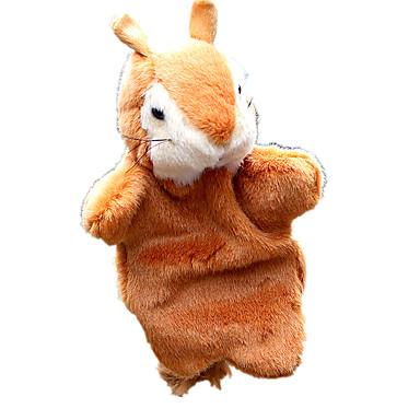 Fantoches de dedo / Fantoches Esquilo Fofinho / Animais / Adorável Tecido Felpudo / Felpudo Crianças Dom