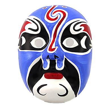 Máscaras de Dia das Bruxas Máscara Pintada a Mão Outros Terror Gesso Peças Unisexo Adulto Dom