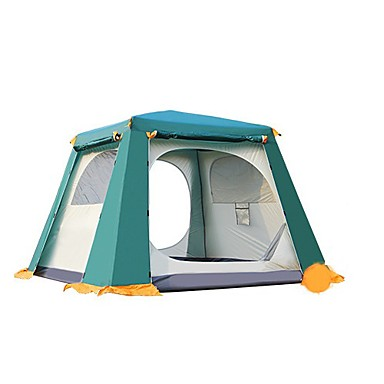 CAMEL 3-4 Personen Zelt Doppel Camping Zelt Einzimmer Familien Zelte für Camping Reisen CM