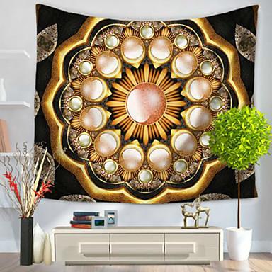 Decoração de Parede 100% Poliéster Modern Arte de Parede, Tapetes de parede do 1