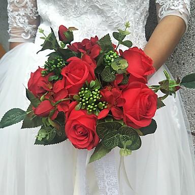 Svatební kytice Kytice / Jedinečné svatební dekorace / Ostatní Svatební / Zvláštní příležitosti / Večírek Materiál / Krajka 0-20 cm