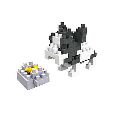 Bausteine Spielzeuge Hunde Heimwerken Kinder Stücke