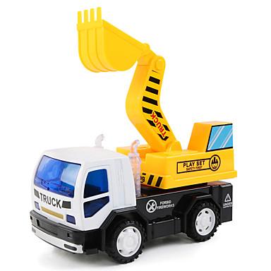 Carros de Brinquedo Brinquedos Veiculo de Construção Escavadeiras Brinquedos Maquina de Escavar Plásticos Peças Crianças Para Meninos Dom