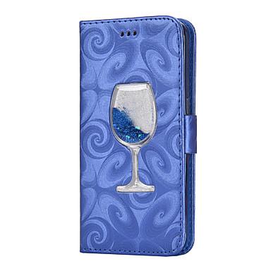 Capinha Para Samsung Galaxy S8 Plus / S8 Carteira / Porta-Cartão / Com Suporte Capa Proteção Completa Sólido Rígida PU Leather para S8 Plus / S8 / S7 edge