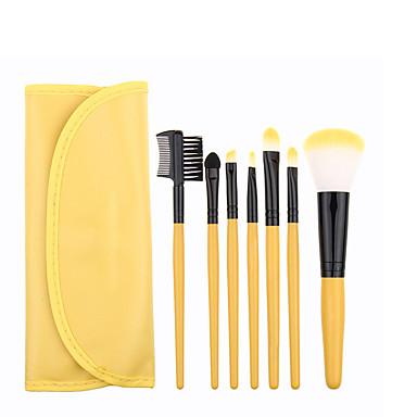 Esponja Aplicadora Pincel para Pó Pincel de Tingimento de Cílio Pincel de Delineador de Olhos Pincel para Sombra Pincel para Blush