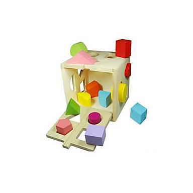 Pro šikovné ručičky Hračky Obdélníkový Dřevo Dětské Pieces
