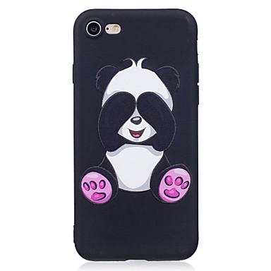 Für iPhone X iPhone 8 Hüllen Cover Muster Rückseitenabdeckung Hülle Tier Panda Weich TPU für Apple iPhone X iPhone 8 Plus iPhone 8 iPhone