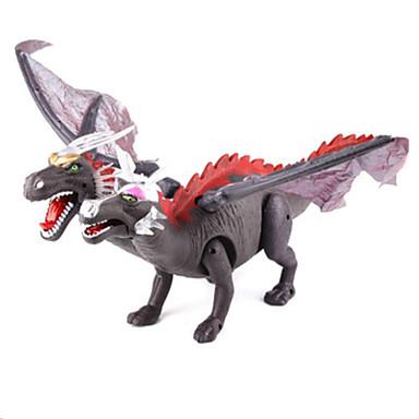 Draci a dinosaury Hračky Obrázky dinosaurů Jurský dinosauř Draci Triceratops Tyrannosaurus rex Plastický Dětské Pieces