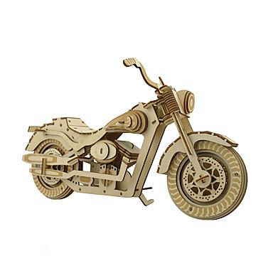 3D - Puzzle Motorrad Spaß Holz Klassisch