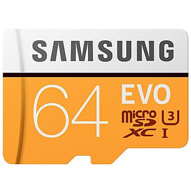 SAMSUNG 64 GB TF karty Micro SD karta Paměťová karta UHS-I U3 Class10 EVO