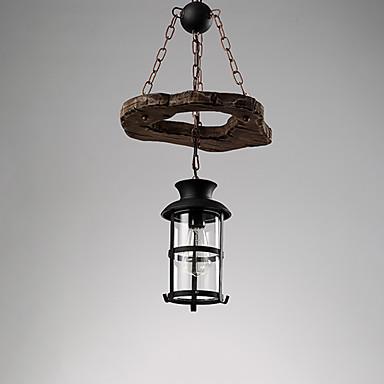 Venkovský styl LED Závěsná světla Tlumené světlo Pro Obývací pokoj Ložnice Kuchyň Jídelna studovna či kancelář teplá bílá 220 v 110 v