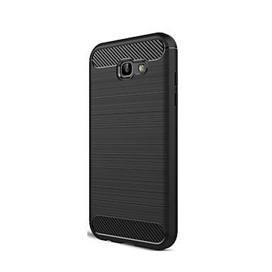 Capinha Para Samsung Galaxy A5(2017) / A3(2017) Antichoque Capa traseira Sólido Macia TPU para A3 (2017) / A5 (2017) / A7 (2017)