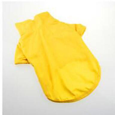 Hund T-shirt Hundekleidung Sport Modisch Massiv Gelb Rot