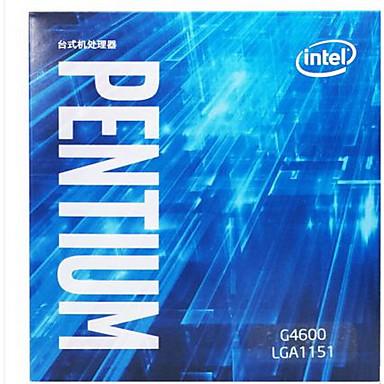 Intel المعالج الكمبيوتر وحدة المعالجة المركزية بنتيوم G4600 2 الصميم 3.6 LGA 1151