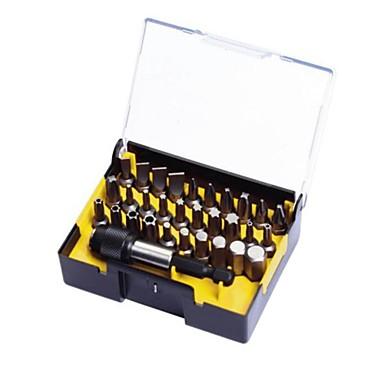 Stanley 31 řada se spirálovou hlavou řady 6.3mm a rychlouzávěr magnetické ojnice nastavená a / 1 pouzdro