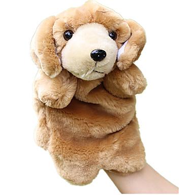 Fantoches de dedo Fantoches Brinquedos Cachorros Animal Fofinho Simulação Adorável Felpudo Tactel Crianças Peças